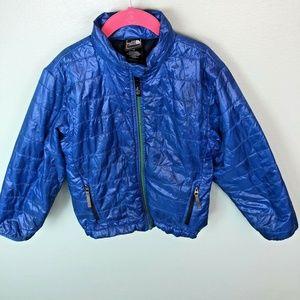 North Face Kid Puffer Jacket Blue Coat size XXS